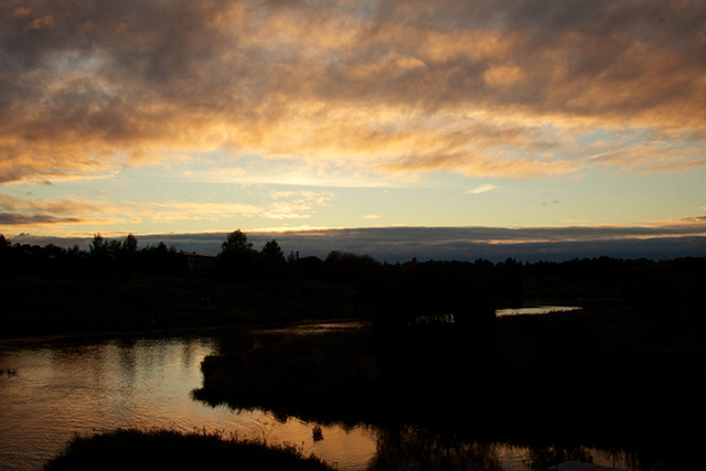 Auringonlasku 24.9.2012